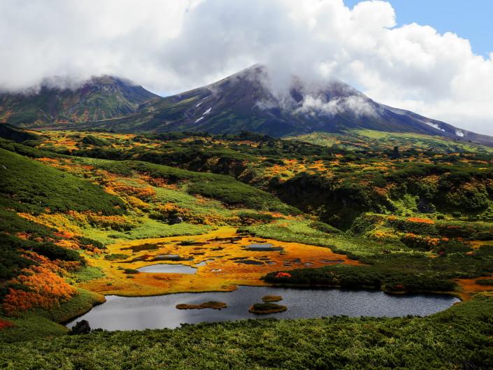 Autumn of Hokkaido Flow Photos