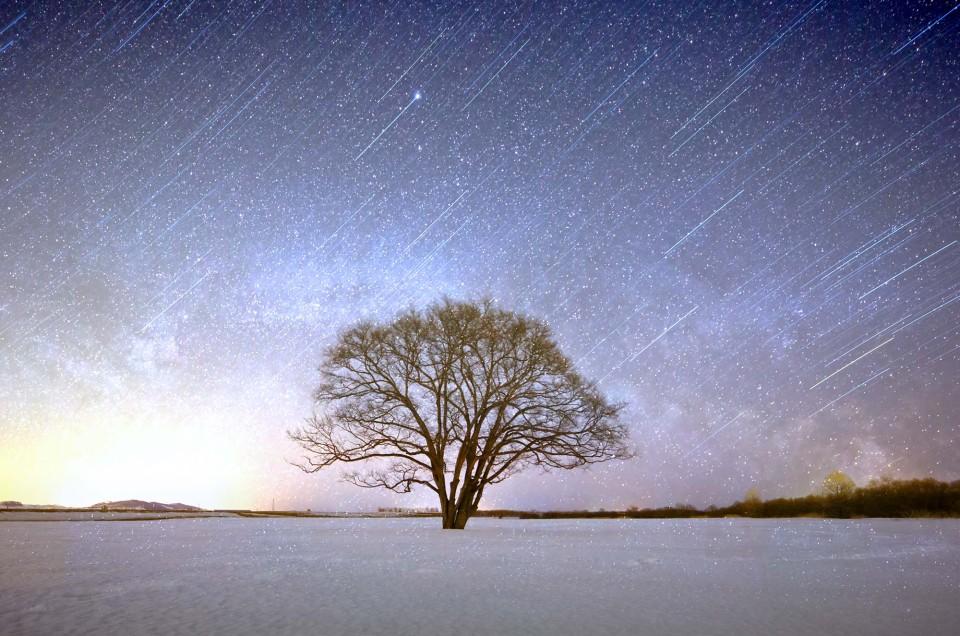 星空の撮り方第十五回 「青ハロ」